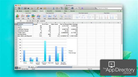Spreadsheet Software Mac by The Best Spreadsheet App For Mac