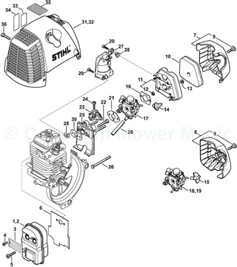 stihl ht 101 parts diagram stihl ht 101 parts diagram
