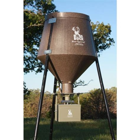 Clearance Deer Feeders Buck Two Step All In 200 Lb Combo Deer Feeder