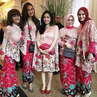 Kain Brokat Nagita Slavina Kain Kaftan Nagita Bahan Brokat Nagita rekomendasi model kebaya muslim modern terbaru edisi 2017