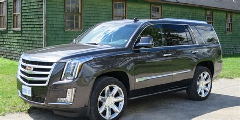 jeep escalade suv review 2016 cadillac escalade driving