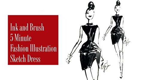 fashion illustration using ink how to sketch a fashion illustration for beginners