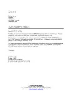 feedback request template cover letter 187 cover letter for customer satisfaction