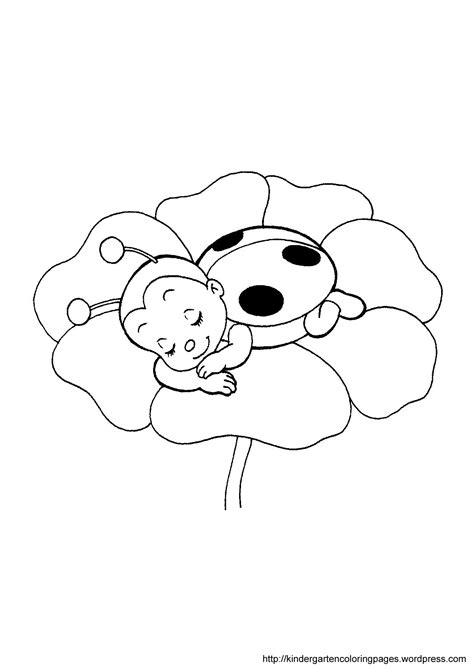 coloring pages ladybug girl ladybug without spots coloring pages