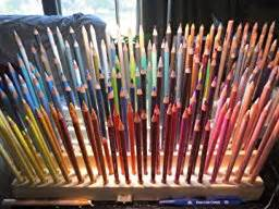colored pencil organizer colored pencil drawing artists time saver