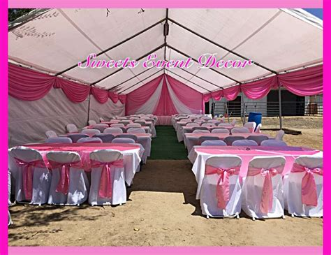 draping for parties baptism quot pink tent draping by sweets event decor