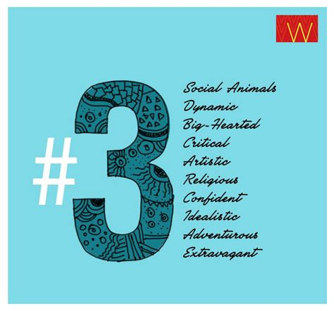 numerology are you a 3 properties of w pinterest