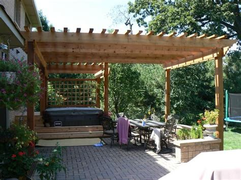 Backyard Pergola Kits western cedar pergola kits backyard