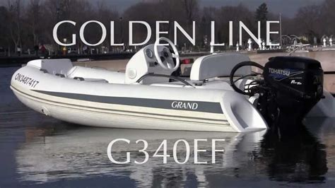 rib boat grand grand inflatable rib boat golden line g340ef with 20hp