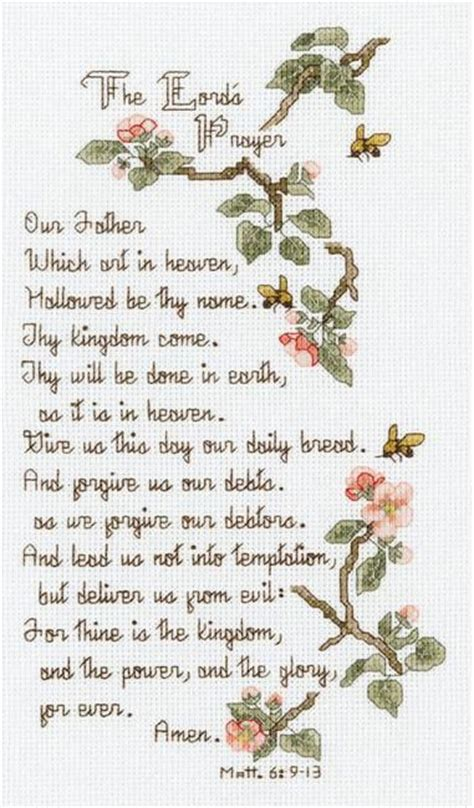 kingdom pattern for prayer 291 best images about crafts religious cross stitch on