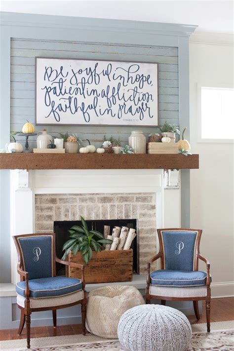 diy fall mantel decor ideas to inspire cottage house