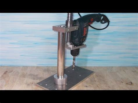 homemade bench press stand homemade drill bench mounted stand diy press drills diy