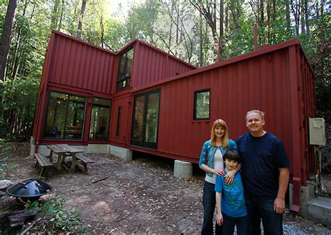 shipping container cabin jetson green shipping container cabin in the woods
