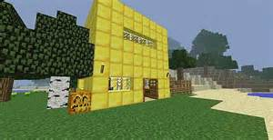 House Made Of Gold minecraft house made of gold gold house survival