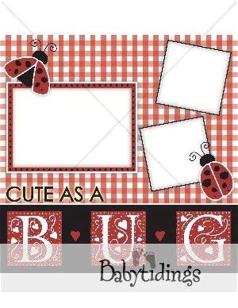 ladybug scrapbook layout ladybug scrapbooking layout lady bug club pinterest