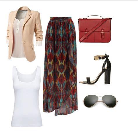 pakai skirt ke pejabat lookbook 7 inspirasi fesyen menggunakan long skirt