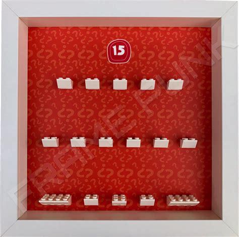 Frame Lego Minifigure Series 15 Display lego minifigures series 15 frame display model frame