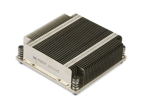 Passive Heat Sink by Supermicro Snk P0057p 1u Passive High Performance Cpu Heat