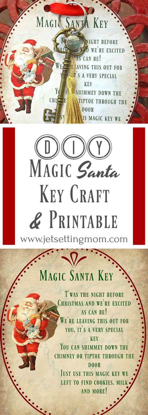 printable christmas key santa key printable christmas printables