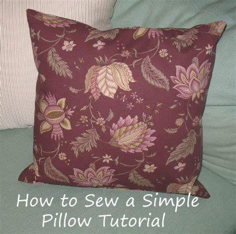 Sewing Pillow by Sew Alluring 187 Archive 187 Sewing Tutorial How To Sew A Simple Pillow