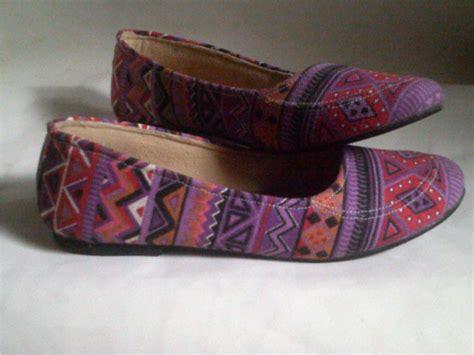 Grosir Batik Murah Batik Print Pa 2 sepatu wanita batik harga grosir murah grosir sandal sepatu murah
