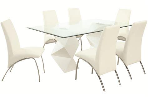 ophelia contemporary  piece dining set