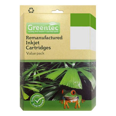 Lc 67 Black greentec lc 67 black and colour 4 ink value pack