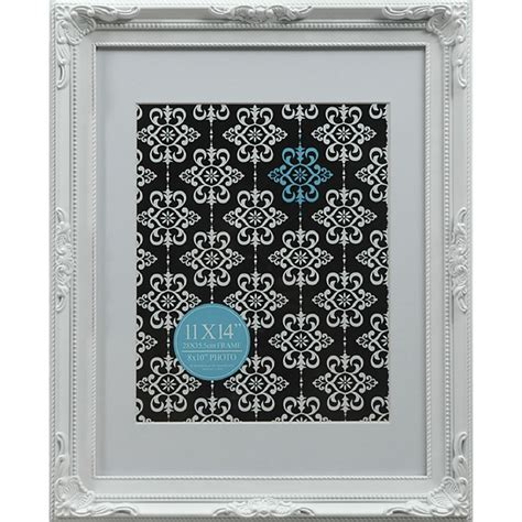11 X 14 Frame With 8 X 10 Mat by Emporium Frame 11 X 14 Quot With 8 X 10 Quot Opening White