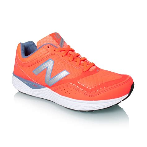 new balance 520v2 womens running shoes coral white