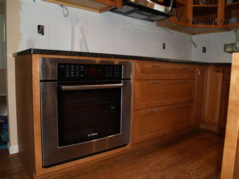 Oven Cabinet wall oven cabinet rustic hickory with dual wall ovens