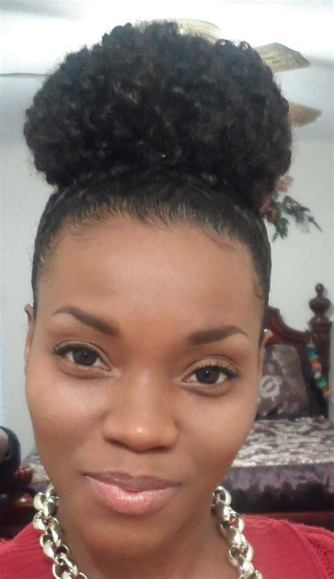 hair peice for making buns to grow out hair twist out bun natural hair 4a all things hair