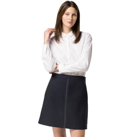 White Tops And Blouses Uk by Blouses Shirts White Hilfiger Convertible Sleeve