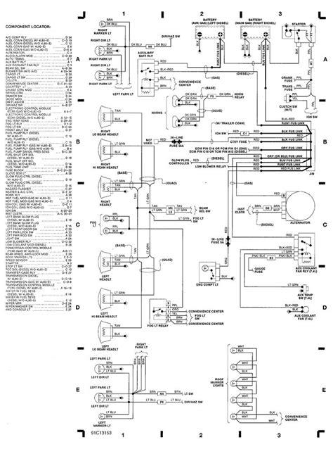 free schematics 1999 chevy 2500 | engine compartment