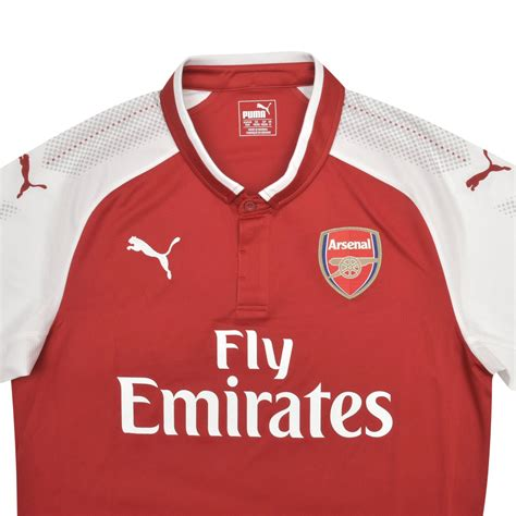 arsenal jersey 17 18 arsenal 17 18 home jersey unveiled soccer365