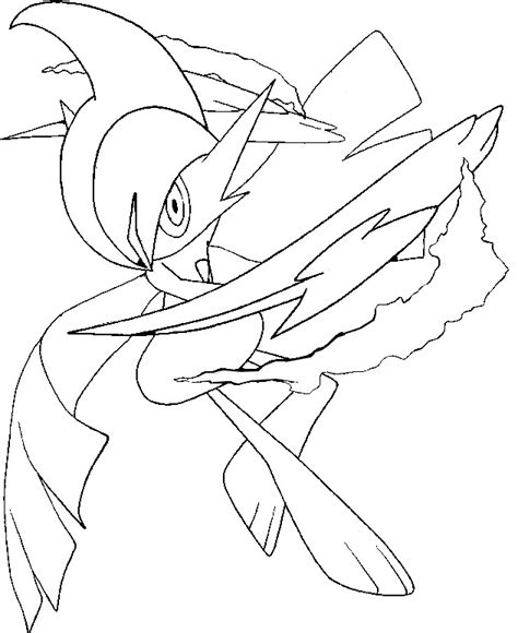 pokemon coloring pages gallade free mega coloring pages