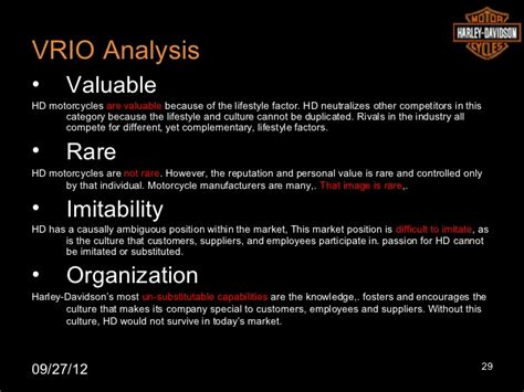 Harley Davidson Swot by Harley Davidson Strategic Analysis
