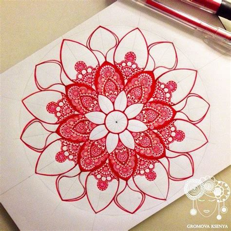 watercolor mandala tutorial 140 best gromova ksenya tutorial images on pinterest