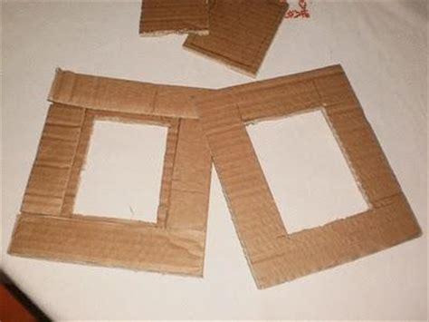 come costruire una cornice come creare una cornice dal cartone tutorial paperblog