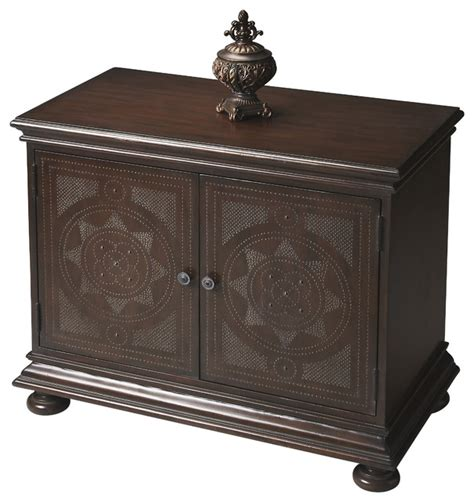 Accent Console Cabinet by Console Cabinet Transitional Accent Chests And