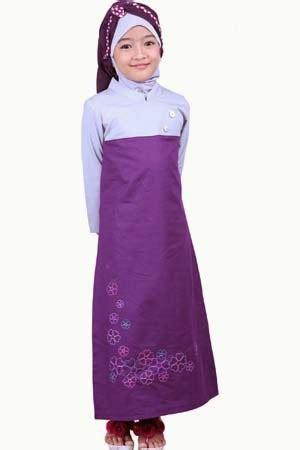 Baju Muslim Anak Perempuan Kaftan Arsy tips memilih busana muslim untuk anak perempuan hanakko