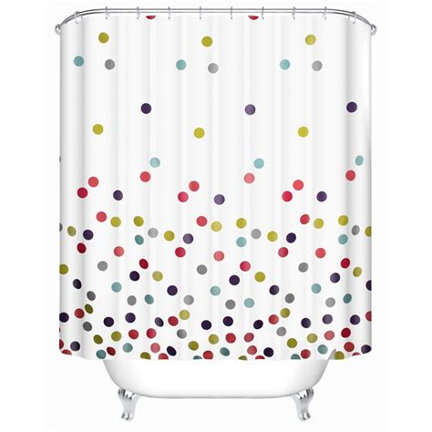 polka dot shower curtains popular polka dot shower curtain buy cheap polka dot