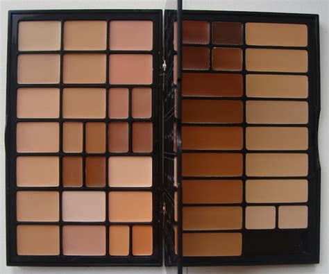 Pallet Mixing Foundi Alat Mix Foundation make up for dolls brown bbu palette concealers correctors foundations
