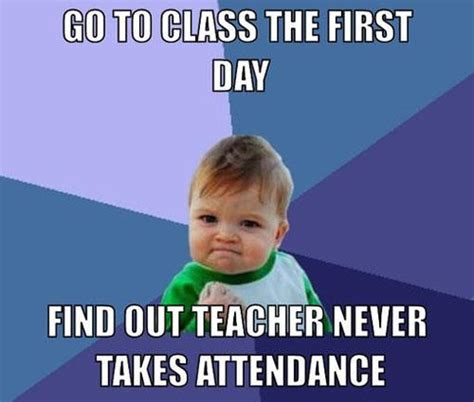 First Day Of Class Meme - first day of school memes