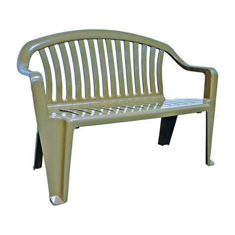 resin patio bench valencia iron wicker resin patio loveseat bench resin