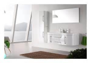 meuble salle de bain vasque blanc laqu 233 brillant