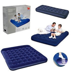 single double queen king size camping mattress blow pump