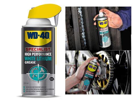 Promo Wd40 Specialist High Performance White Lithium Grease Jv 21l B new wd 40 high performance white lithium grease aerosal lubricant spray 250ml