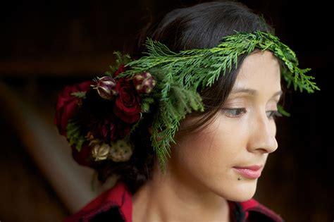 Cheerful Fantasia Flowercrown Flower Crown diy winter flower crown