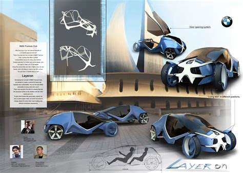 panel designs bmw layeron concept personalized rent car