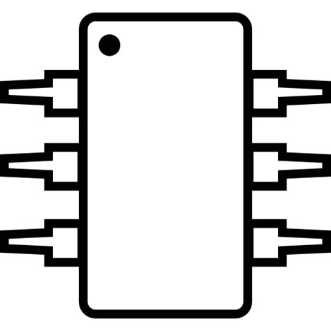 integrated circuit that keeps track of the current time in a pc ic integrated circuit michrochip ios 7 symbol free tools and utensils icons